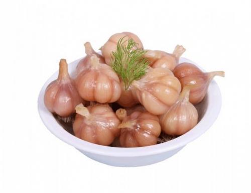 Рецепт моченого чеснока, как на рынке на зиму.