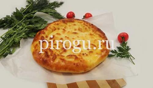 Хачапури на кефире с картошкой. Хачапури с картошкой и сыром на сковороде