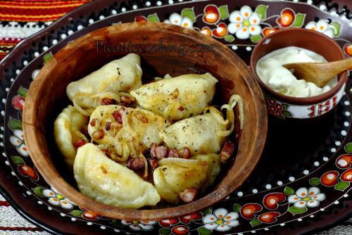Вареники с картошкой и капустой квашеной пошаговый рецепт. Вареники с картофелем и квашеной капустой