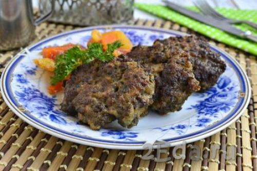 Рецепт печеночных котлет из свиной печени с манкой рецепт. Котлеты из свиной печени с манкой