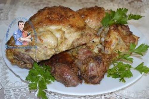 Курица кусочками в духовке с чесноком и майонезом рецепт. Курица кусочками в духовке — рецепт с фото. Мясо сочное, мягкое, нежное, вкусное