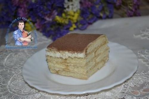 Торт без выпечки рецепт из печенья и творога с сгущенкой желатином. Торт из печенья со сгущенкой и творогом — рецепт без выпечки