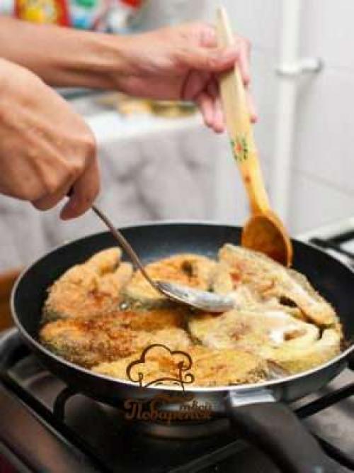Как пожарить толстолобика на сковороде с чесноком и майонезом. Как жарить толстолобика на сковороде: классический рецепт
