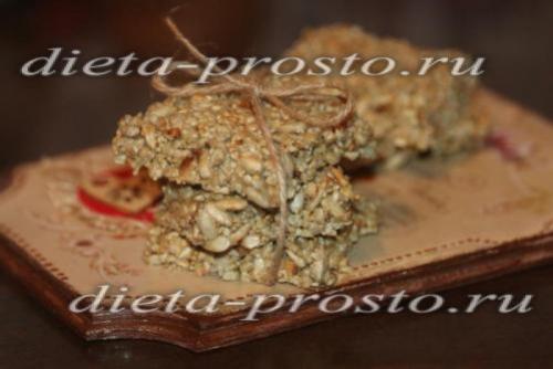 Козинаки из семечек в домашних условиях рецепт без меда. Козинаки из семечек