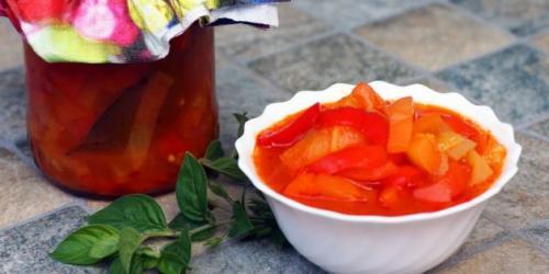 Лечо с петрушкой и чесноком и луком. 5 лучших рецептов лечо