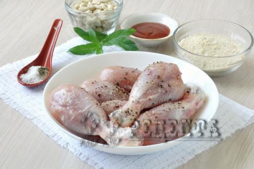 Бедра куриные в панировке на сковороде рецепт с фото