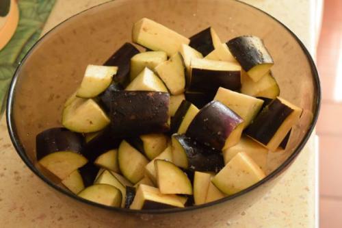Рагу из баклажанов с картошкой. Рагу с баклажанами