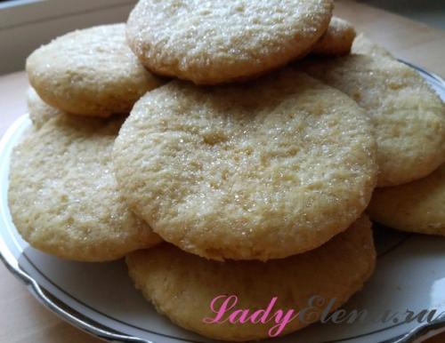 Печенье с майонезом и крахмалом. Печенье на майонезе