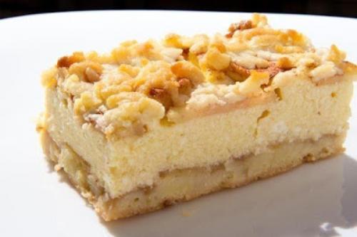 Рецепт тертый пирог с творогом и яблоками. Тертый пирог с творогом и яблоками.