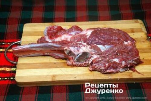 Стейк антрекот из говядины. Ингредиенты для антрекота из говядины (2 порции)