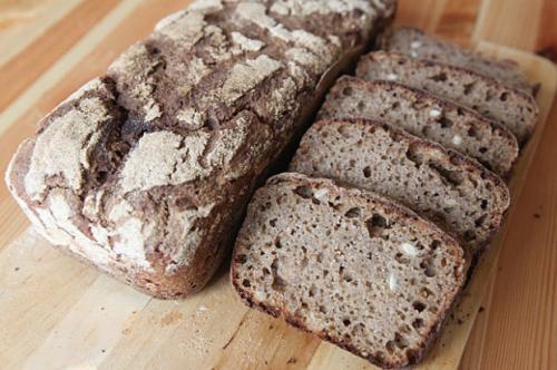 Хлеб на ржаной закваске с солодом