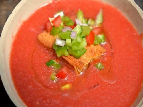 Гаспаччо из свежих томатов рецепт юлии высоцкой. Гаспачо — классический пошаговый рецепт