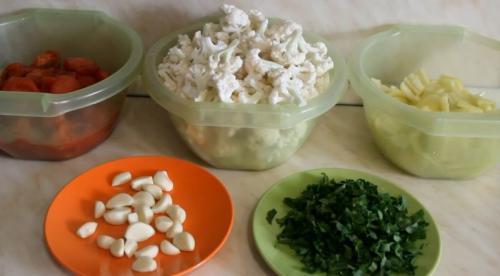 Маринованная цветная капуста, как грибы на зиму. Цветная капуста, маринованная в томате на зиму