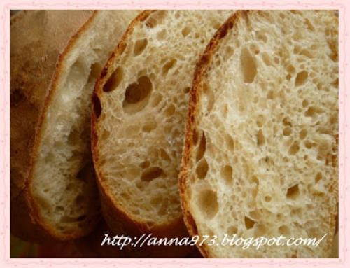 Хлеб на закваске картофельной. 27 октября 2009 г.
