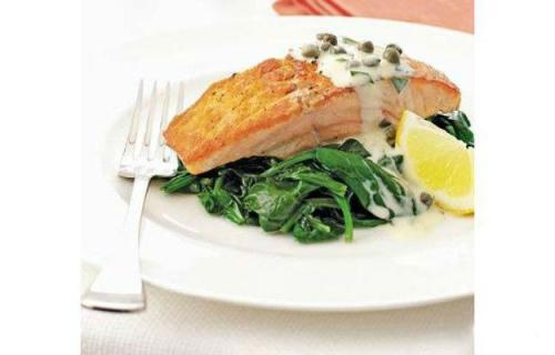 Рыба запеченная с соусом тартар. Готовим