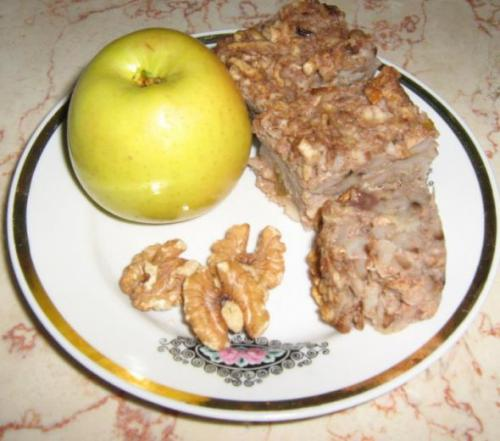 Пирог с яблоками из мацы. Яблочный пирог из мацы