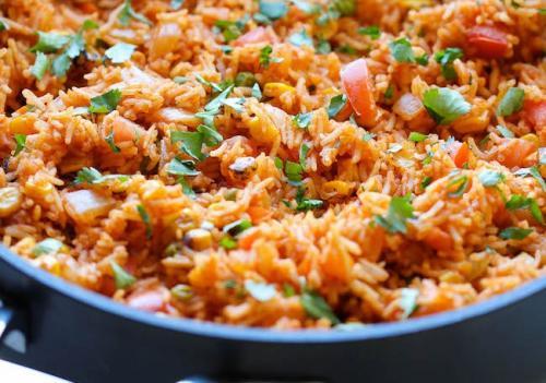 Рис с томатным соусом. Совет 1: Как приготовить ароматный рис с томатным соусом