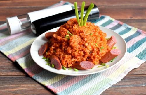 Рис в томатной пасте. Будьте всегда в Настроении