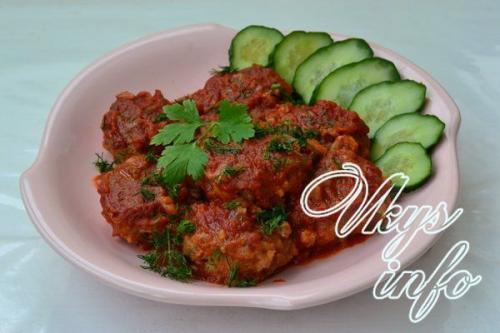 Рис в томатном соусе в мультиварке. Рецепт 3:тефтели в соусе в мультиварке (с фото)