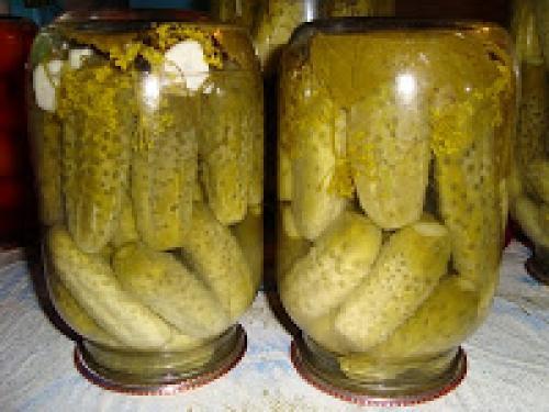Огурцы на зиму без сахара с уксусом. Огурцы маринованные без сахара