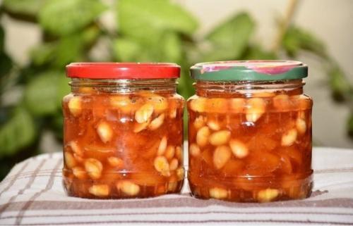 Варенье из персиков медовое. Оригинальное медовое варенье из персиков
