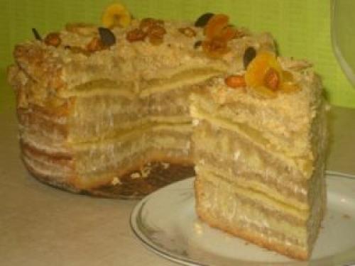 """Торт самый вкусный на свете. Самый вкусный на свете торт """"Пески Сахары"""""""