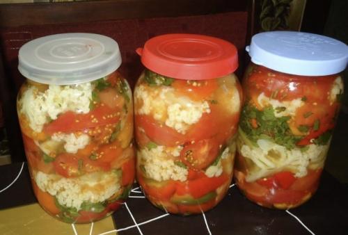 Рецепт овощного ассорти с цветной капустой. Рецепты приготовления ассорти из цветной капусты