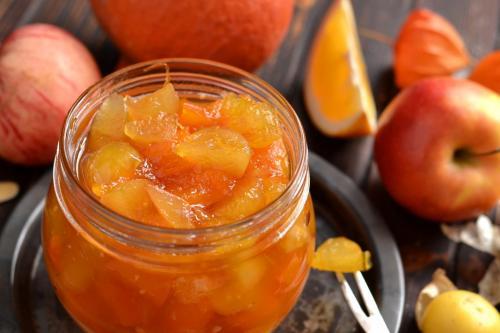 Варенье из тыквы и физалиса. Варенье из яблок с апельсином и тыквой