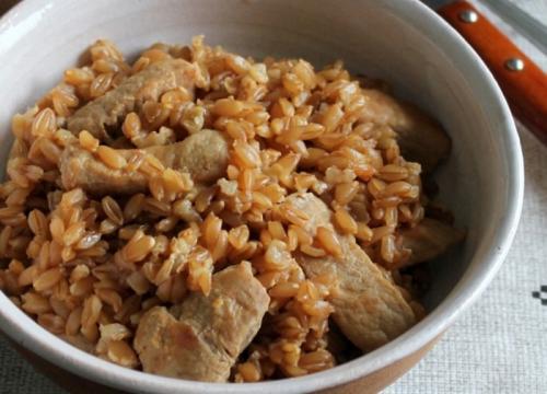 Рецепт полба с мясом. Аппетитная полба с мясом