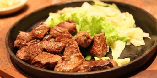 Рецепты мяса на сковороде. Кусочками