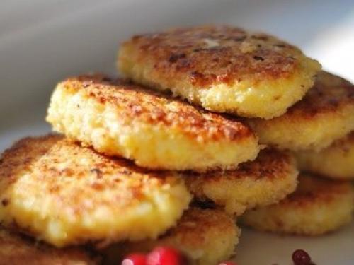 Рисовые котлеты с сыром, рецепт