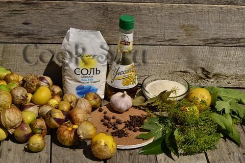 Икра из овощного физалиса на зиму рецепты. Икра из физалиса овощного на зиму