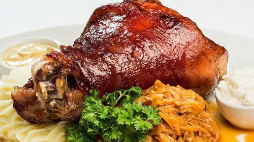 Вкусная свиная рулька. Вариант 1 Рецепт рульки, запеченной в духовке
