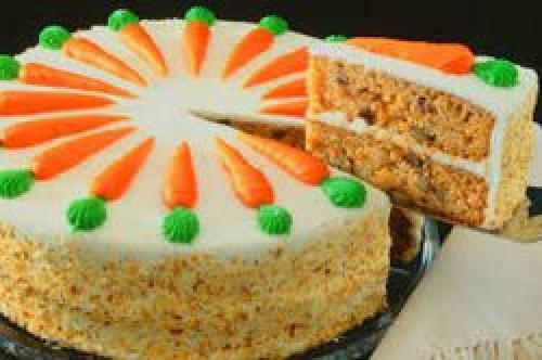 Торт морковный с сыром филадельфия.
