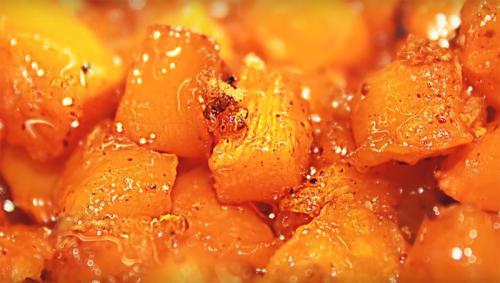 Блюда в тыкве рецепты быстро и вкусно в духовке. Тыква в духовке рецепты приготовления кусочками
