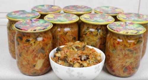 Солянка с подосиновиками и капустой. Солянка из грибов и капусты на зиму - отличный гарнир или готовая начинка для пирожков